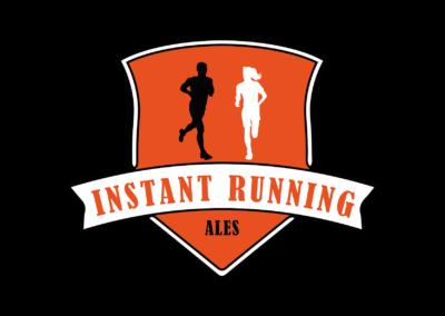 Logo Instant Running
