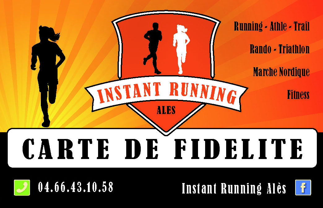 Instant Running Print