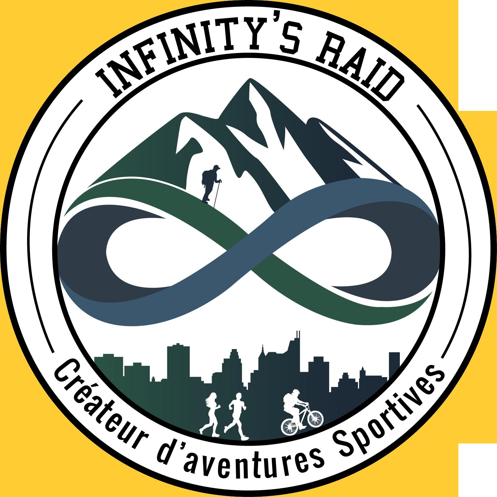 Logo d'Infinity's Raid, aventures sportives et Team Building